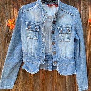 Guess denim light wash jean jacket
